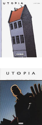 Utopia1 and Utopia 2 covers