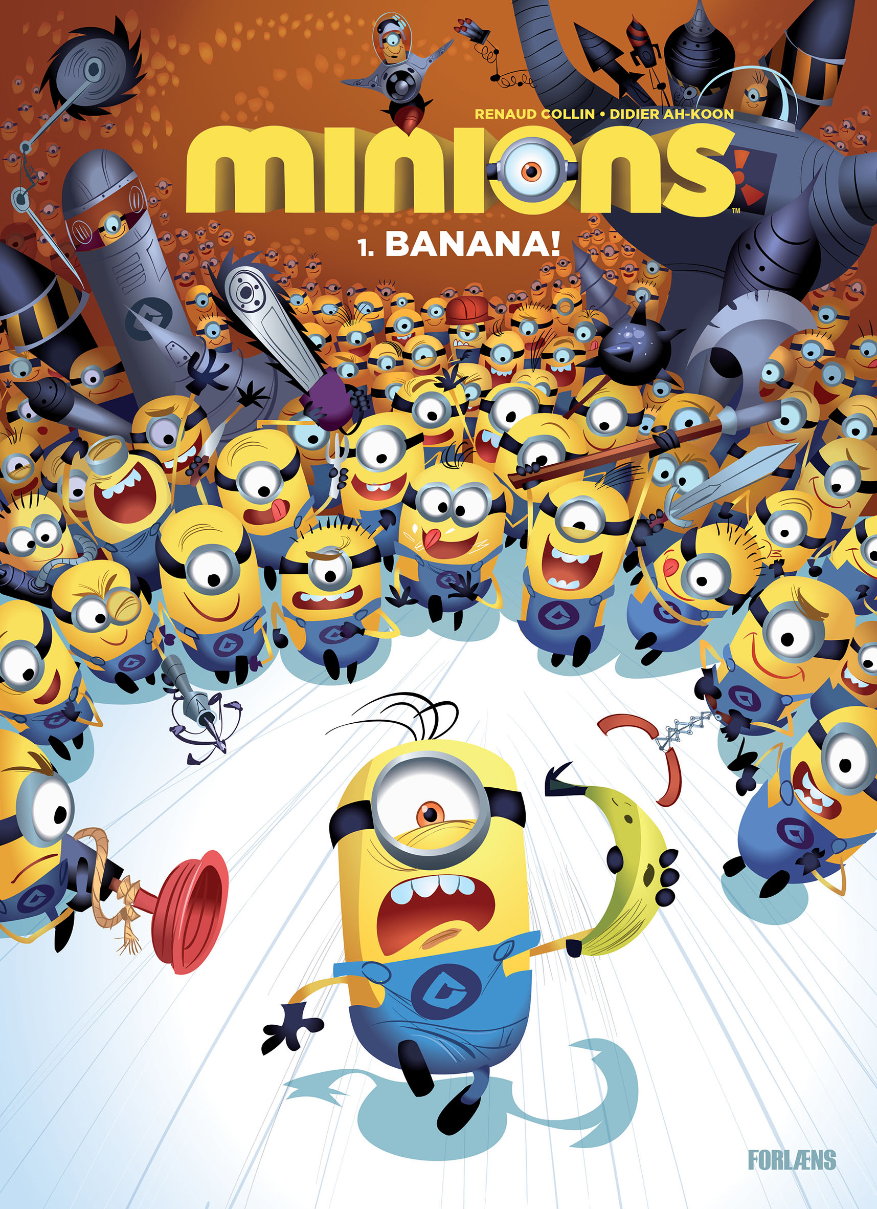 Minions Bind 1 - Cover