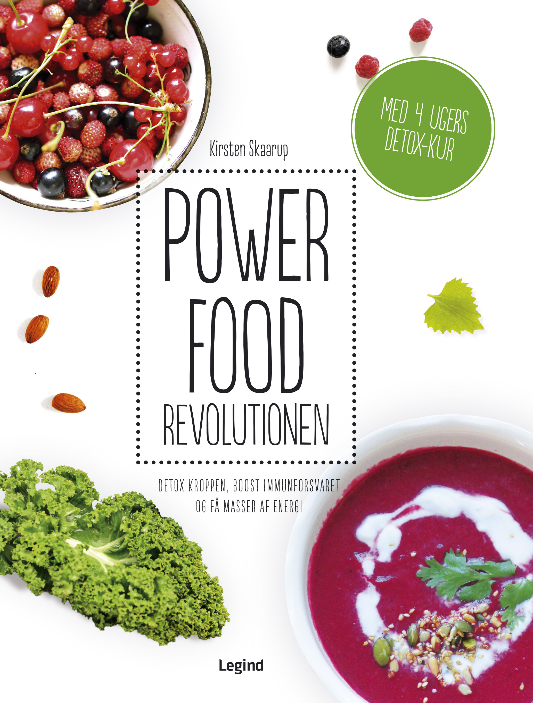 Powerfood cover design and layout by Martin Flink