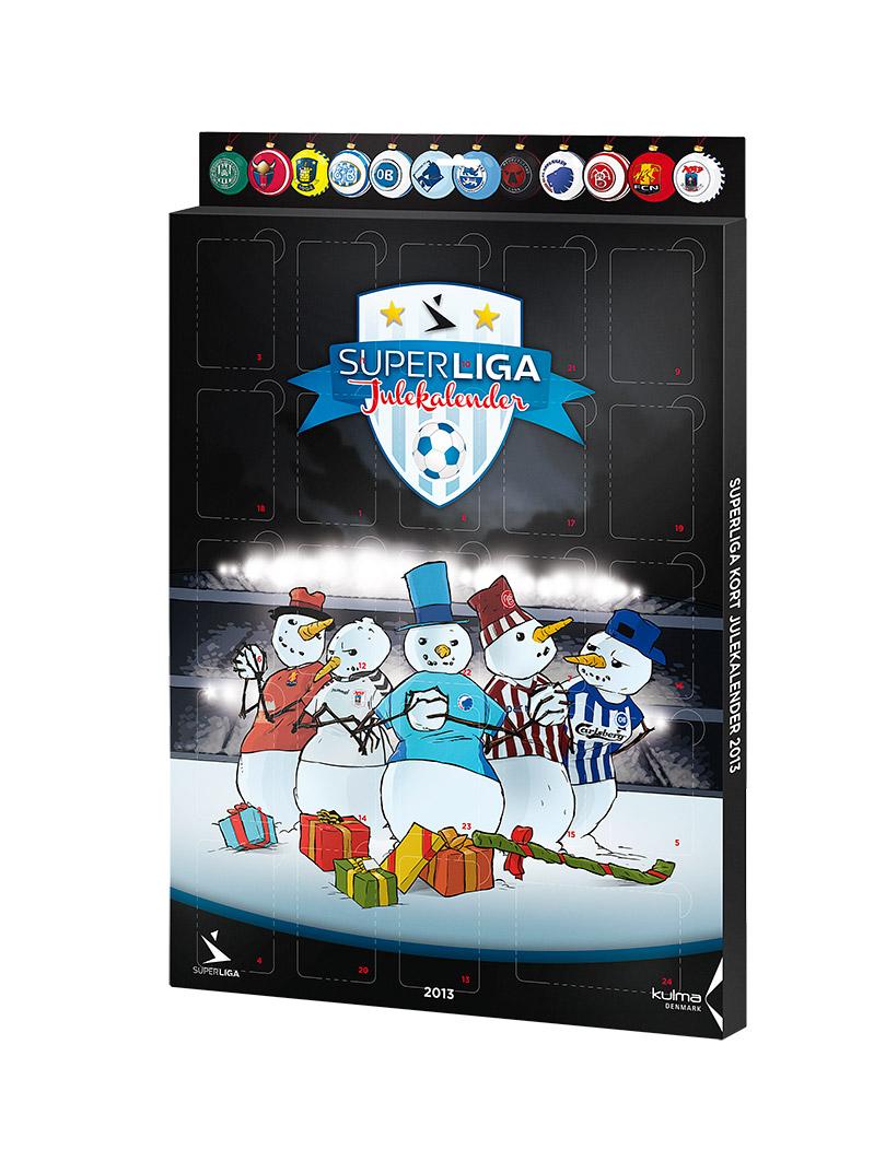 Superliga julekalender 2013 by Martin Flinkj