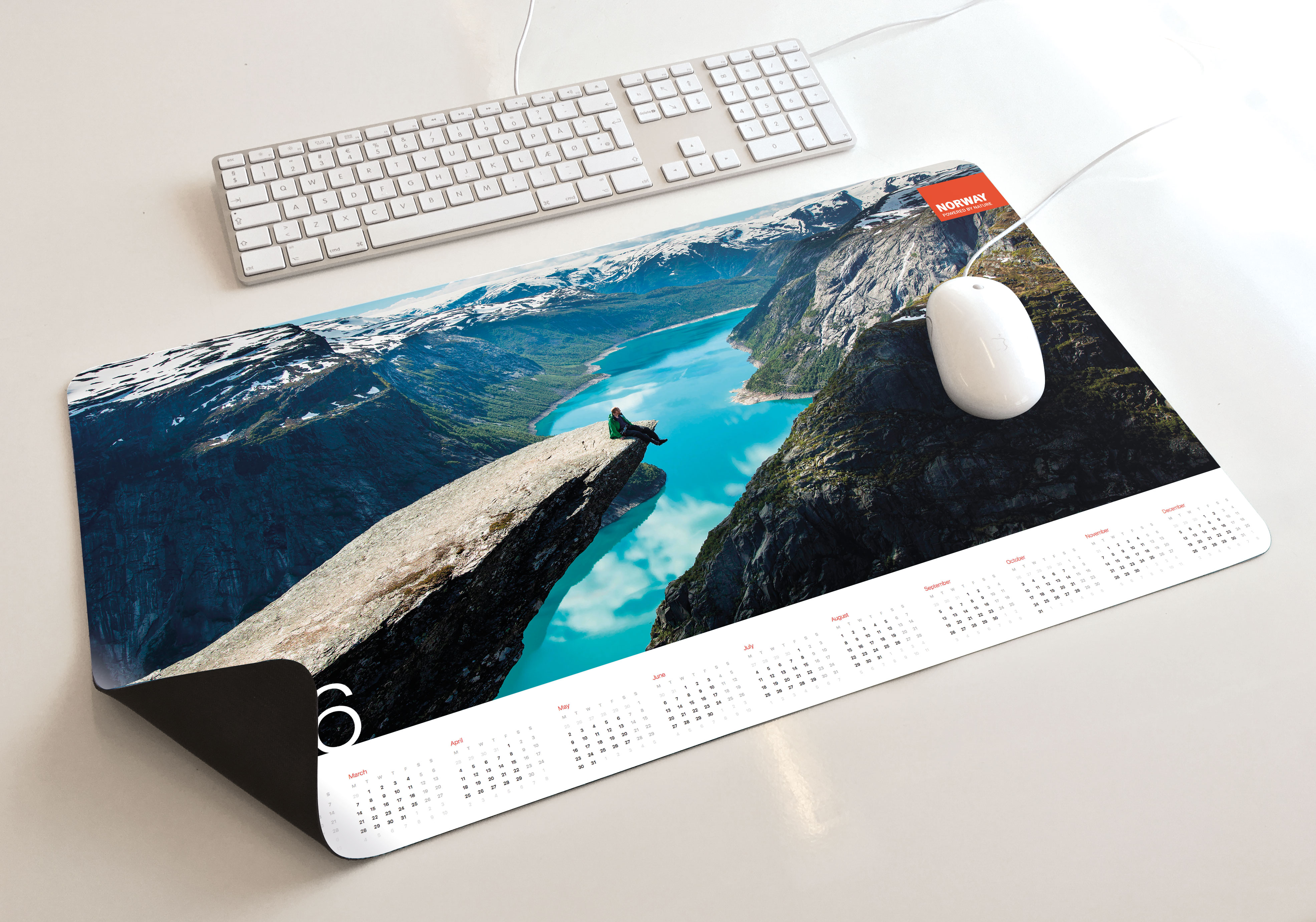 Innovation Norway mouse pad by Martin Flink